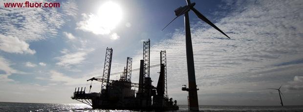 Крупнейшая в мире ветряная электростанция морского базирования